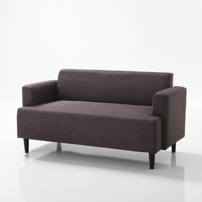 Divano 2 posti modello lik rivestimento tessuto l 145 cm - Tessuto rivestimento divano ...