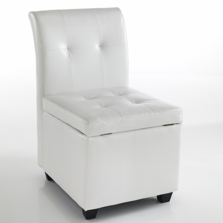 Sedia con vano contenitore \