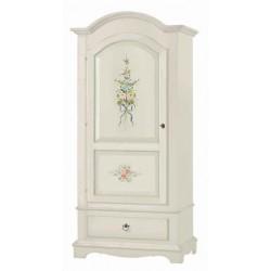 Armadio decorato, 1 porta