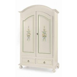 Armadio decorato, 2 porte