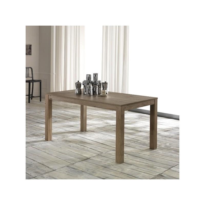 Tavolo telescopico in legno di frassino 156 316x90x76 big for Tavolo legno frassino