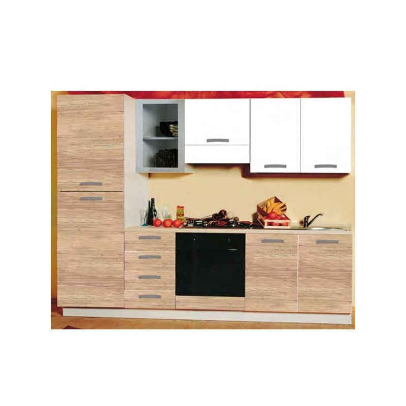 Cucina componibile L 255 lineare - BELGIO_10