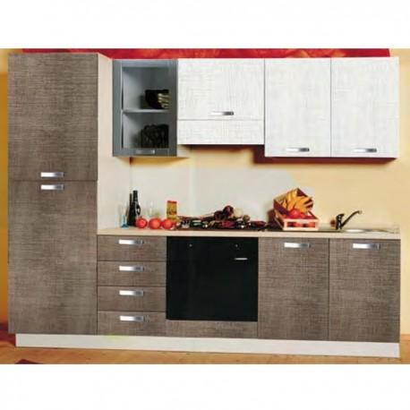 Cucina componibile L 255 lineare - SVIZZERA_10