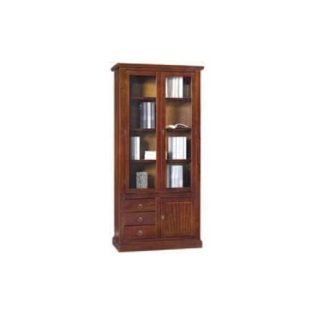 Libreria con cassetti