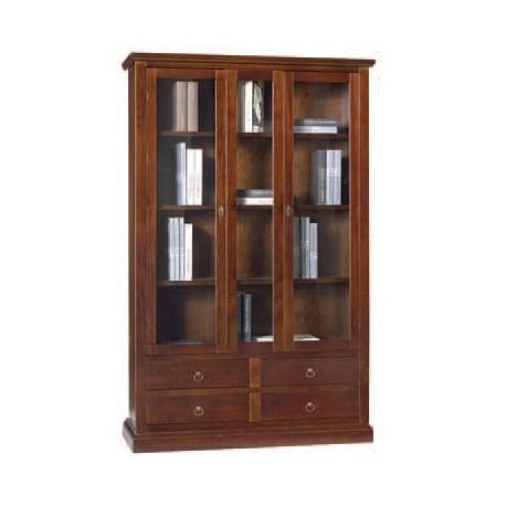 Libreria 4 cassetti