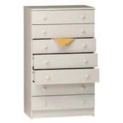 Cassettiera 7 cassetti