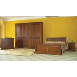 Camera matrimoniale legno massello
