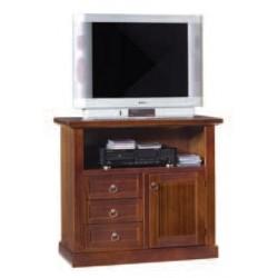 Porta TV, 2 ante con cassetti