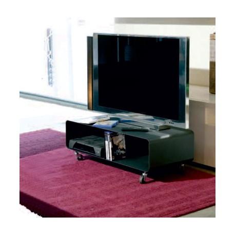 Porta tv in acciaio