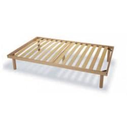 Rete singola fissa in legno