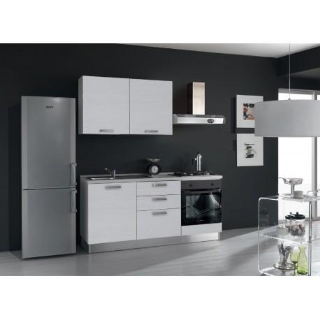Cucina Proposta N. BG02 - Frigo free standing non compreso