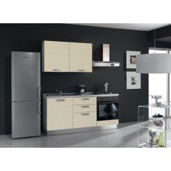 Cucina Proposta N. Q609 - Frigo free standing non compreso
