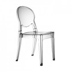 Sedia in policarbonato trasparente impilabile IGLOO CHAIR