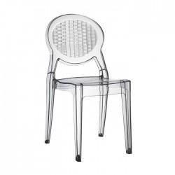 Sedia in policarbonato trasparente impilabile BARBARELLA