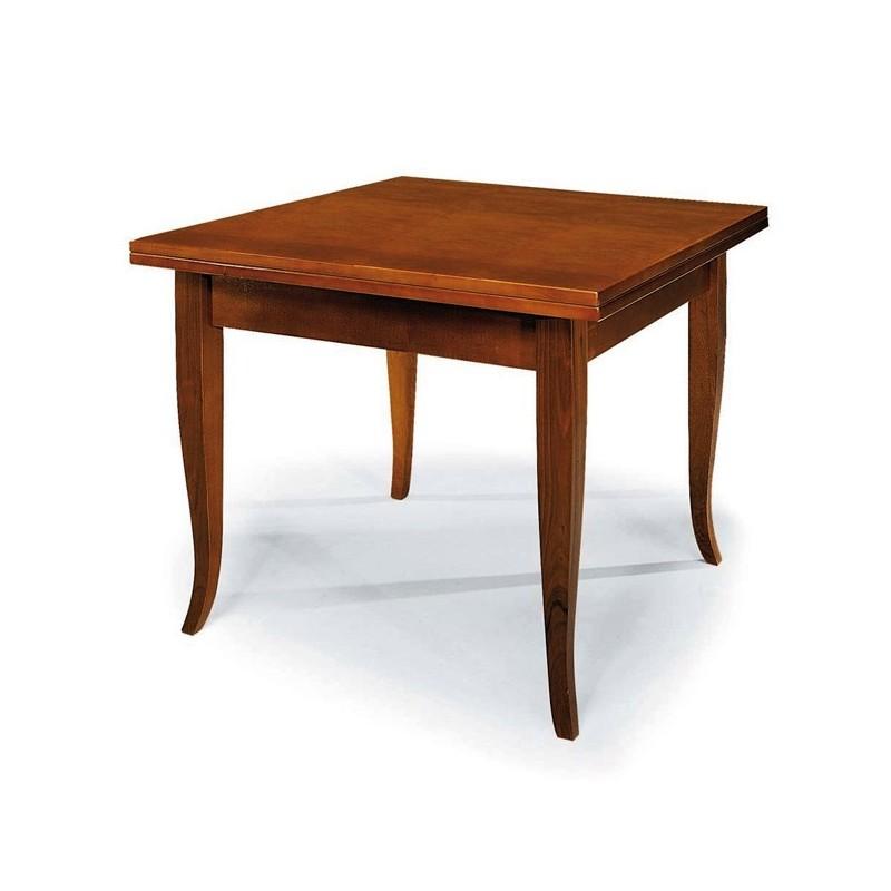 Tavolo quadrato arte povera apertura a libro gambe a - Tavolo arte povera mondo convenienza ...