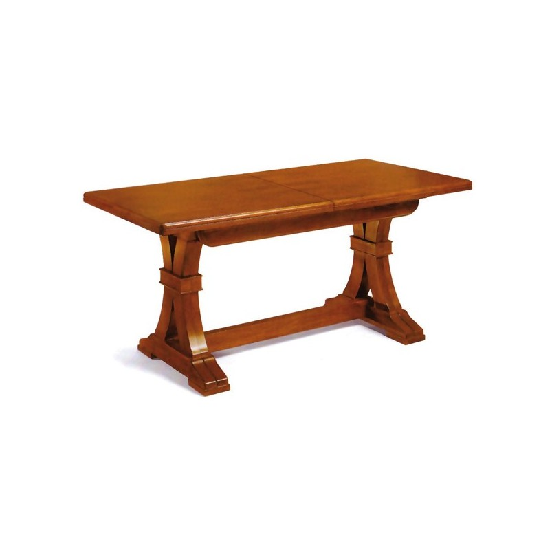 Tavolo fiocco arte povera allungabile piano in massello - Tavolo ovale allungabile arte povera ...