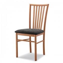 Sedia VIVI  in legno con sedile imbottito