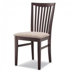 Sedia ANNA in legno con sedile imbottito