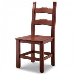 Sedia BASSANO in faggio con sedile paglia/massello