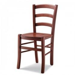 Sedia VENEZIA in legno con sedile in massello
