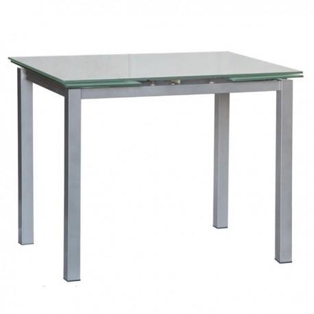 Tavolo Con Piano In Vetro.Tavolo Allungabile Con Piano In Vetro 120x80 Libeccio 80
