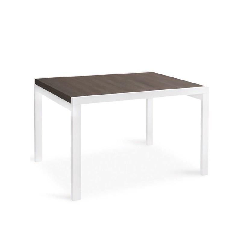 Tavolo allungabile a libro in legno ponente - Tavolo quadrato legno ...